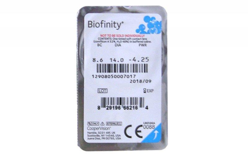 Biofinity Einzellinse