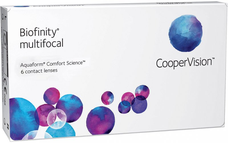 Biofinity Multifocal 6 St.